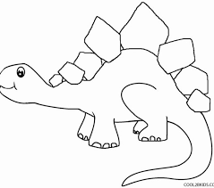Dinosaur Coloring Page Printable Pages For Kids