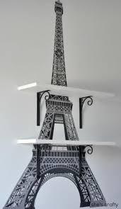 Shes Crafty Eiffel Tower Shelves Paris Theme BedroomsParis Themed