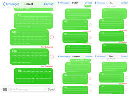 ios Why won t an SMS go through in certain geographical areas on