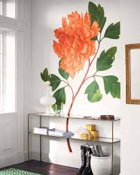 Wall Mural Decals Flowers by Floral Decorating Ideas Martha Stewart