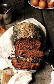 BAYADERKA Babka Z Jezykami Rustic Chocolate Cake With Nuts