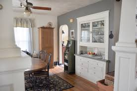 Home Tour Part Three The Good Bad And Ugly Long View Of Dining Room Shows Storage