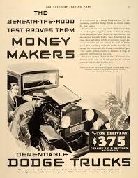 100 Antique Dodge Trucks 1932 Ad Chassis 12 Ton Delivery ORIGINAL
