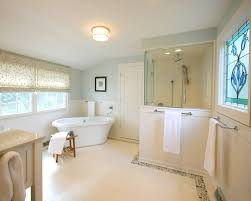 Small Bathroom Wainscoting Ideas by Shower Stall Designs Bathroom Traditional With Appliances Bead