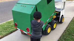 100 Rubbish Truck Aidan The Garbage Kid With Dump Action Garbage Fun