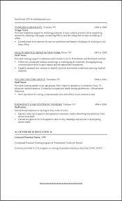 Lpn Resume Template Best Of Sample Objective Templates Lvn Sevte Licensed Practical Nurse