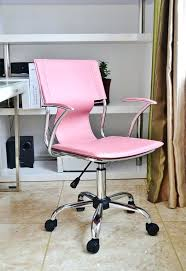 Pink Desk Chair Walmart by Desk Chairs Desk Chairs Without Wheels Pink Polka Dot Chair