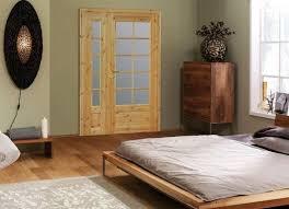 porte chambre bois portes intérieures modernes en 38 idées pour votre maison