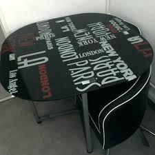 table de cuisine avec chaise encastrable table chaise encastrable table cuisine chaise encastrable table en