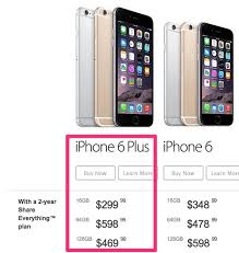 Rogers and Bell Discount 16GB iPhone 6 Plus to $299 on Contract
