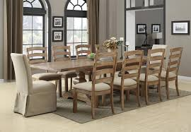 100 Dining Room Chairs With Oak Accents 11 Piece Table Chair Set Belair By Emerald Wilcox Furniture