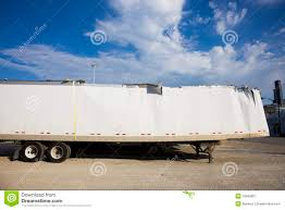100 Truck Accident Chicago White Trailer After Against Blue Sky Stock Image Image