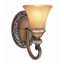 hton bay 1 light caffe patina sconce wall sconces lights and