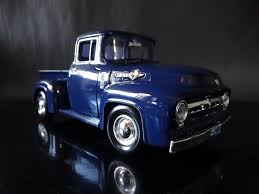 MOTOR MAX 1956 Ford F-100 Pickup Truck Blue 1:24 Scale Diecast Metal ... Rm Sothebys 1956 Ford F100 Pickup Hershey 2018 Fast Lane Classic Cars Streetside Classics The Nations Trusted Hot Rides Pinterest Trucks And Trucks Panel Truck That Looks Like A Rundown Old But Isn Lost Wages Custom Vintage Stock Photos Interior Franks Rods Upholstery 31956 Archives Total Cost Involved