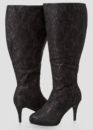 glam knee high boots wide calf boots ashley stewart 068 ash29993