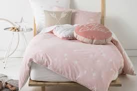 Stargazer Pink Duvet Cover Set by Squiggles