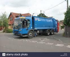 100 Waste Management Garbage Truck Local Authority Waste Management Garbage Truck On Household Street