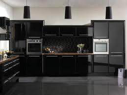 cuisine gris et noir cuisine élégance par excellence cuisine noir noir et en noir