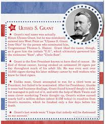 100 Facts About US Presidents 18 Ulysses S Grant
