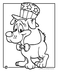 Th Of July Coloring Pages Summer Printables Patriotic Puppy 5932
