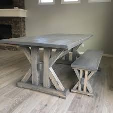 14 Free DIY Woodworking Plans For A Farmhouse Table Lindsey Farm 6piece Trestle Table Set Urban Chic Small Ding Bench Hallowood Amazoncom Vermont The Gather Ash 14 Rentals San Diego View Our Gallery Lots Of Rustic Tables Jesus Custom Square Farmhouse Farm Table W Matching Benches Reclaimed Chestnut Wood Harvest Matching Free Diy Woodworking Plans For A Farmhouse Handmade Coffee Ashley Distressed Counter 4 Chairs Modern Southern Pine Wmatching Bench