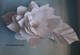 Large Paper Flower Book