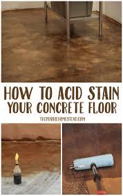 Unnamed File 45819 20 Concrete Floor Ideas Diy