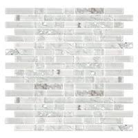 snow glass subway tile 3 x 6 in the tile shop