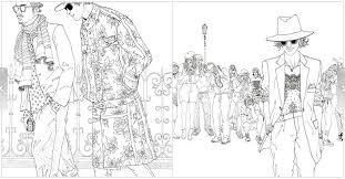 Bts Kpop Coloring Pages Sketch Page