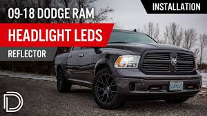 How To Install 2009-2018 Dodge Ram Headlight LEDs (Reflector ... 2009 Dodge Ram Truck 1500 Headlight Protection Film Lampgard Bixenon Projector Retrofit Kit 2013 High Performance 1318 Ram Upgrade Harness Gen5diy For 092018 2500 3500 Led Tube Black Upgrades Anzo Halo Headlights Truckin Oracle 0205 Colorshift Rings Bulbs Smoked Recon Complete Custom Led Pods Headlights Page 2 Dodge Forum 1417 How To Lift Your Laws For Jeep Browning