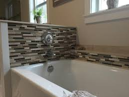 bliss bamboo and glass linear mosaic tiles rocky point