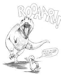 Realistic Dinosaur Drawings