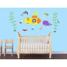 Wall Mural Decals Nursery by Bedroom Wall Stickers With Ocean Wall Mural For Baby Room