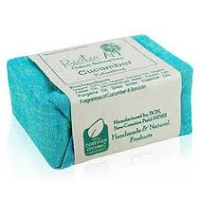 Let Your Skin To Feel Happy By Using This Rustic Art Organic Cucumber Soap