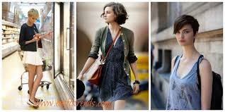 25 Cute Outfits With Short Hair Dressing Style Ideas