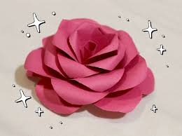 Make These Lovely Paper Roses Instead Of Buying Flowers For Craft