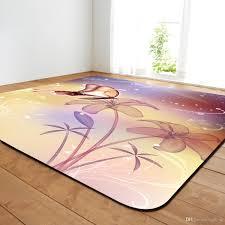 großhandel wohnzimmer teppich mit schmetterlings zeichnung esszimmer teppich mit schmetterlings zeichnungs design footcloth zeichnung und der größe