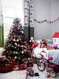 Bedroom With Decor Christmas Tree