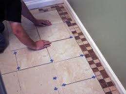 Tiling A Bathroom Floor Youtube by How To Install Bathroom Floor Tile How Tos Diy