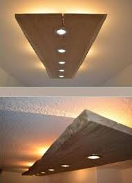 massiv holz design decken le beleuchtung