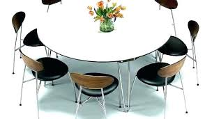 Round Dining Table 8 Chairs Large Room And