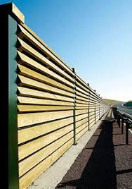 murs anti bruit pins de