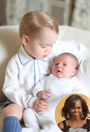 Michelle Obama Empty Chair by Michelle Obama Brings Prince George And Princess Charlotte Gifts
