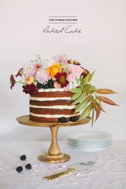 How To Make A Naked Cake By Cakewalk Bake Shop