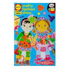 Amazoncom ALEX Toys Little Hands Crafty Fashion Show Toys Games