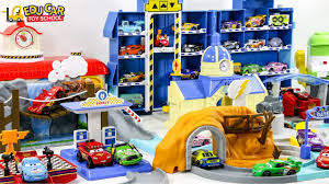 Welcome To The Town Learning Color Disney Cars Lightning McQueen ...