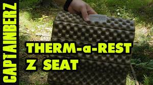 Thermarest Trekker Lounge Chair by Therm A Rest Z Seat Youtube