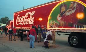 Coke Truck Brings Holiday Cheer | Local News Stories | Iberianet.com Coca Cola Delivery Truck Stock Photos Cacola Happiness Around The World Where Will You Can Now Spend Night In Christmas Truck Metro Vintage Toy Coca Soda Pop Big Mack Coke Old Argtina Toy Hot News Hybrid Electric Trucks Spy Shots Auto Photo Maybe If It Was A Diet Local Greensborocom 1991 1950 164 Scale Yellow Ford F1 Tractor Trailer Die Lego Ideas Product Ideas Cola Editorial Photo Image Of Black People Road 9106486 Teamsters Pladelphia Distributor Agree To New 5year Amazoncom Semi Vehicle 132 Scale 1947 Store