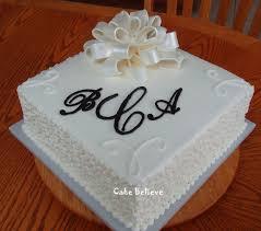Simple Wedding Shower Cakes