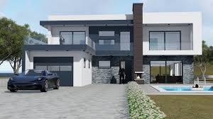 100 Modern Hiuse LUXURY MODERN HOUSE 3D Model
